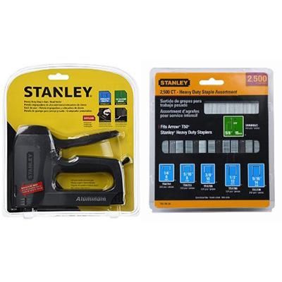 Best Manual Staple Gun Stanley TR250 SharpShooter Plus