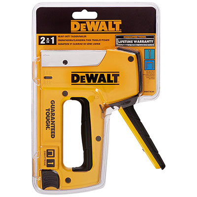 Best Heavy Duty Staple Guns Dewalt DWHTTR350 Heavy Duty Aluminum Stapler/Brad Nailer