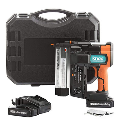 Best Cordless Staple Guns Knox Cordless Nail and Staple Gun