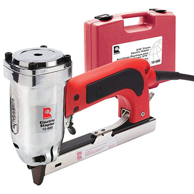 Best Electric Staple Guns for Wood Roberts Model 10-600 Professional Electric Stapler