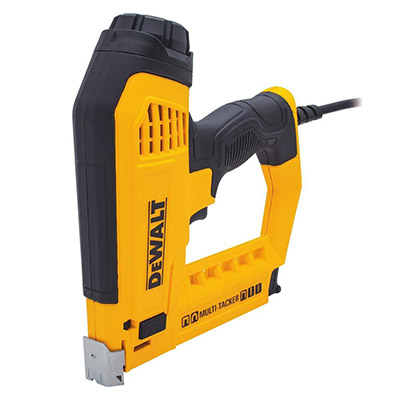 Best Electric Nail and Staple Guns DEWALT 5-in-1 Multi-Tacker and Brad Nailer