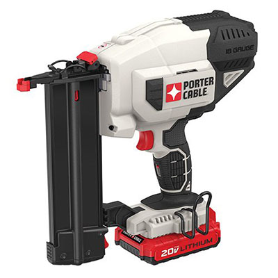 Best Brad Nailers PORTER-CABLE PCC790LA 20V MAX Lithium 18GA Cordless Brad Nailer Kit