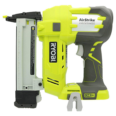 Best Battery Powered Staple Guns Ryobi P360 18 Volt Lithium Ion One+ 3/8 to 1½-Inch Crown Stapler