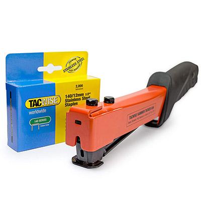 Best Staplers for Insulation Tacwise 1262 A54 Slap Hammer Stapler