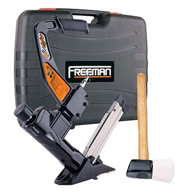Best Hardwood Floor Staplers Freeman PFL618BR 3-in-1 Pneumatic Flooring Nailer