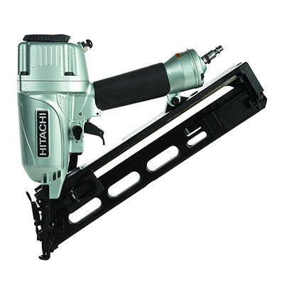 Best Air Nail Guns Hitachi NT65MA4 1-1/4 Inch to 2-1/2 Inch 15-Gauge Angled Finish Nailer with Air Duster